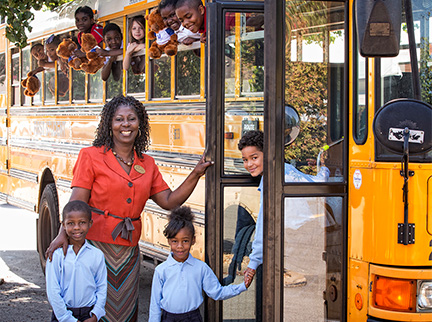 children-school-bus