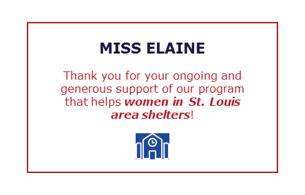 Thank You Miss Elaine